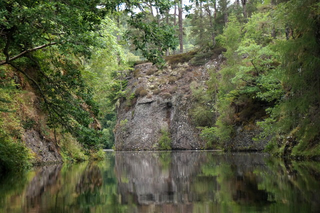 Aigas Gorge on the River Beauly