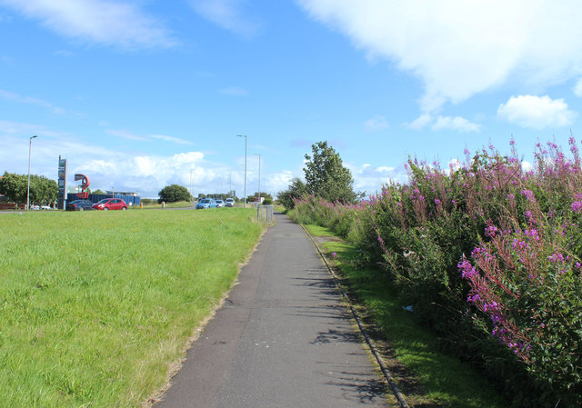 Footpath to Whitletts, Ayr