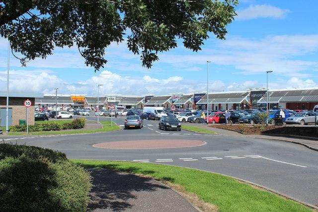 Heathfield Retail Park, Ayr