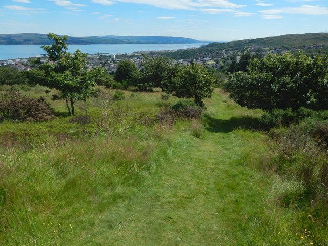 Path to Glenbrae Road