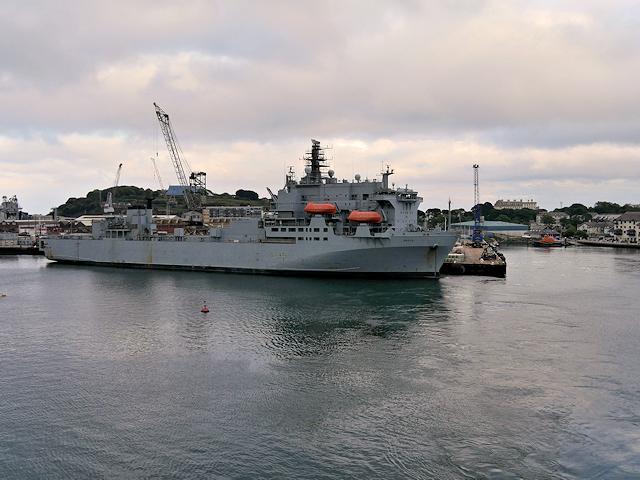 RFA Argus at Duchy Wharf, Falmouth