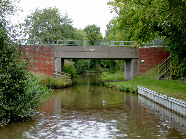 Baddiley Bridge north of Wrenbury Heath in Cheshire