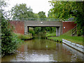 SJ6049 : Baddiley Bridge north of Wrenbury Heath in Cheshire by Roger  Kidd