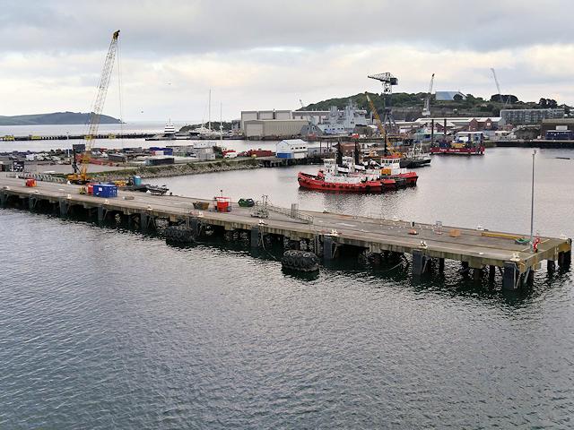 Falmouth Harbour, Queen's Wharf