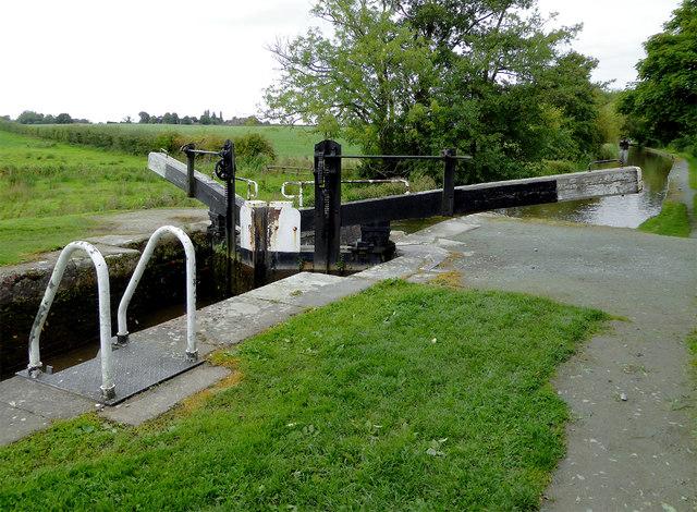 Baddiley No 2 Lock near Wrenbury Heath, Cheshire