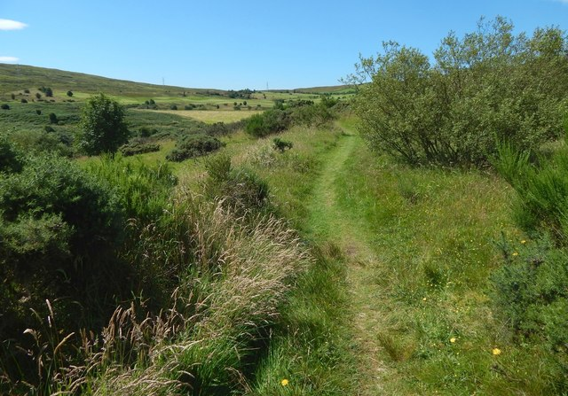 Path to Whinhill Reservoir