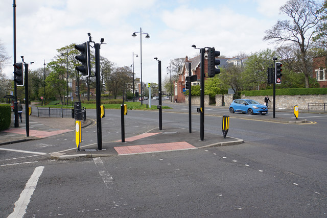A large road junction