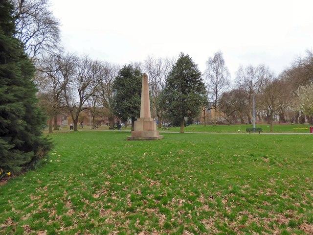 Whitworth Park Obelisk
