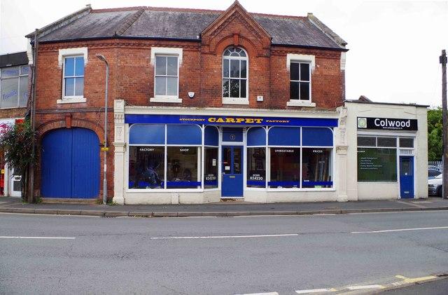 Stourport Carpet Factory, 1-3 Bewdley Road, Stourport-on-Severn