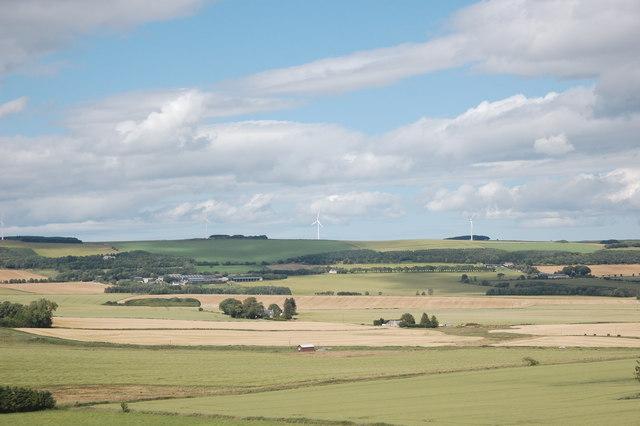 Aberdeenshire countryside
