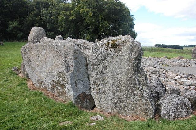 Recumbent stone, Loanhead of Daviot