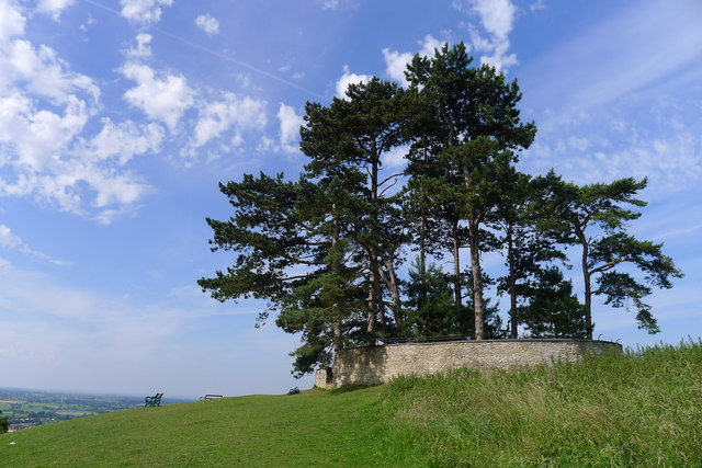 The viewpoint on Wotton Hill