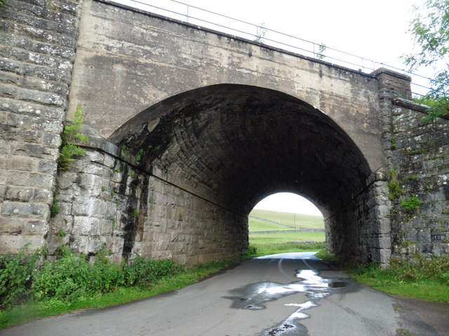 Railway bridge, south of Kirkby Stephen