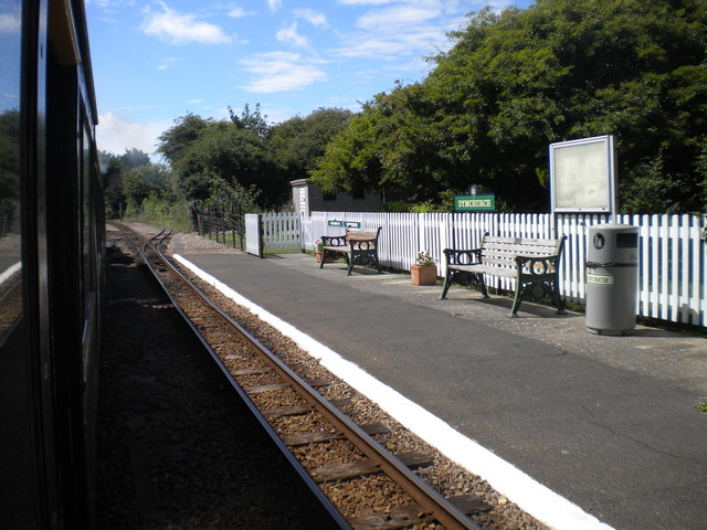 South west end of Dymchurch station