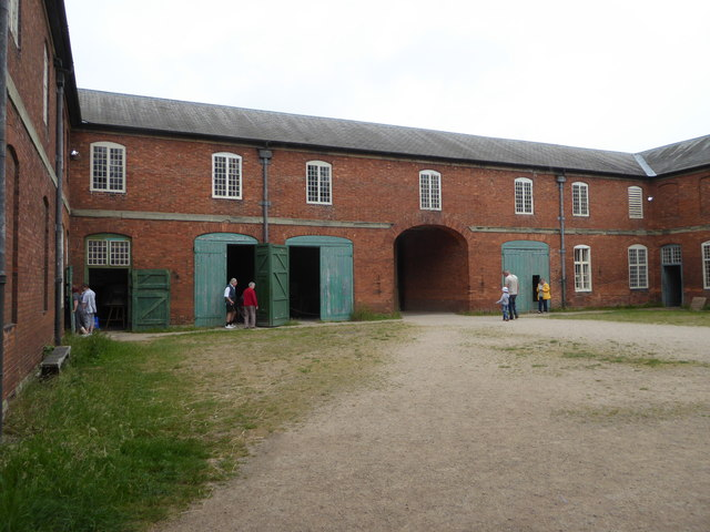 Calke Abbey - stable block