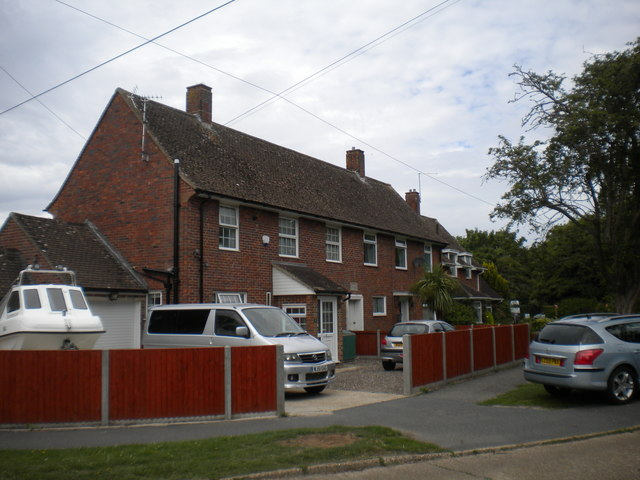 Houses on The Churchlands, New Romney