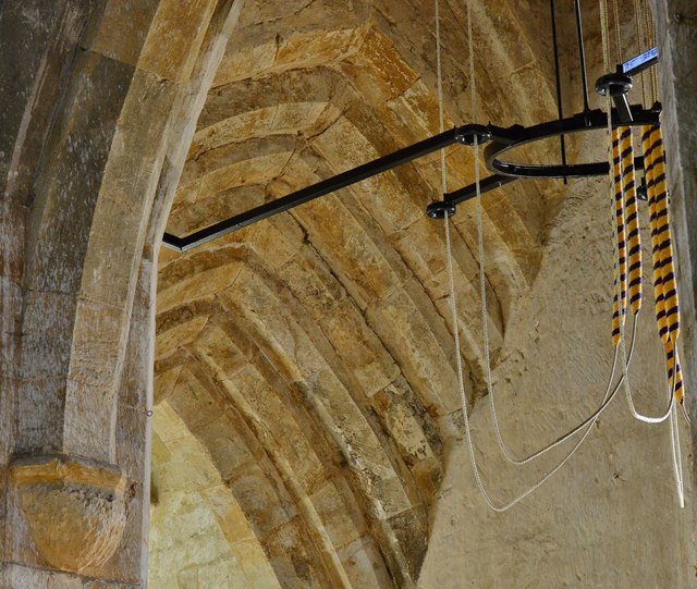 Hanwell, St. Peter's Church: The tower arch detail