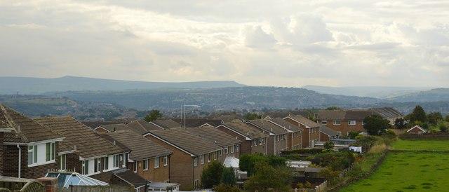 Heaton Fields rooftops view