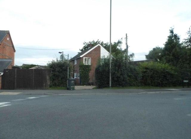 Junction on Heath Lane, Thatcham