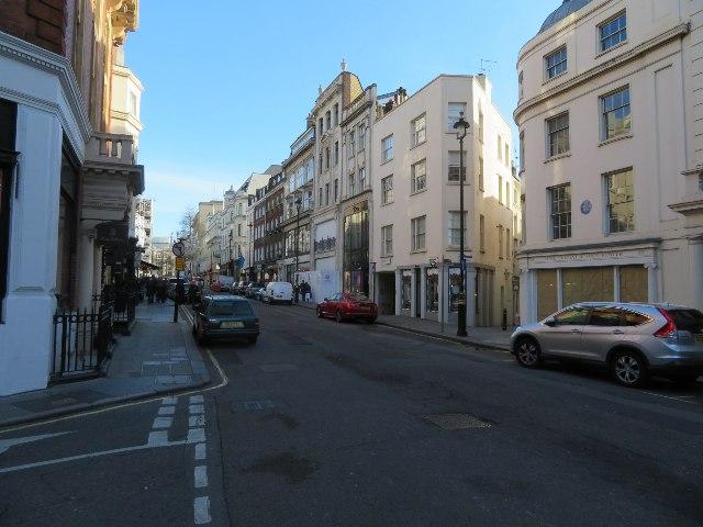 Little traffic - Brook Street