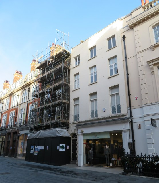 All change - South Molton Street