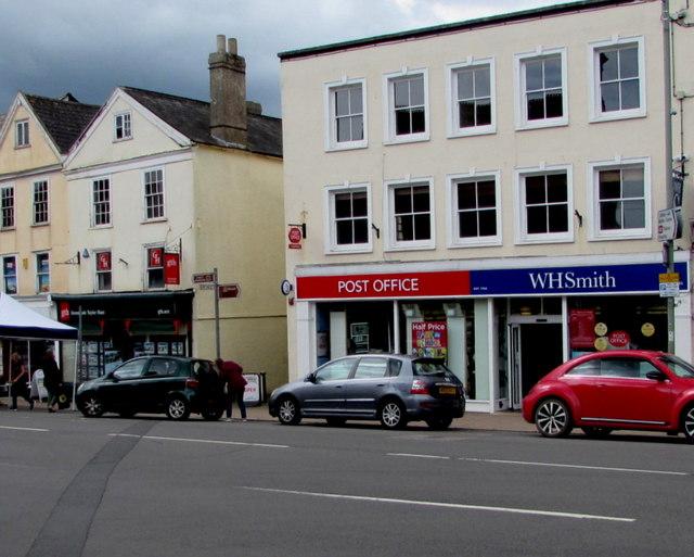 WHSmith and Post Office, Honiton
