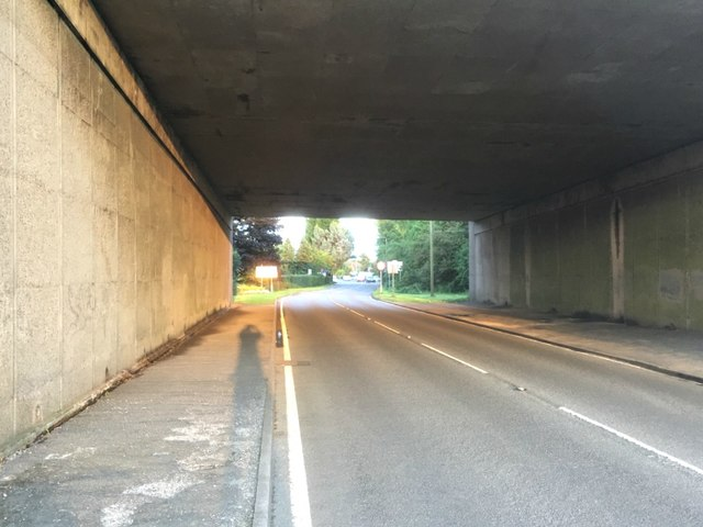 Draycott Road under the M1