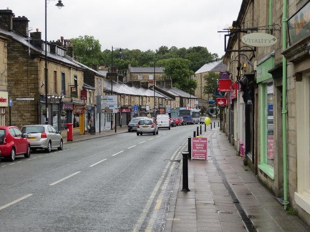 Bolton Street (A676) in Ramsbottom