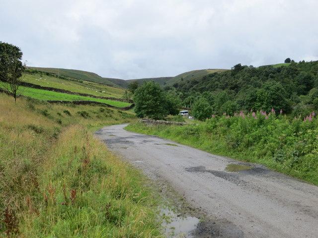 Road (Track) to Pondon Hall
