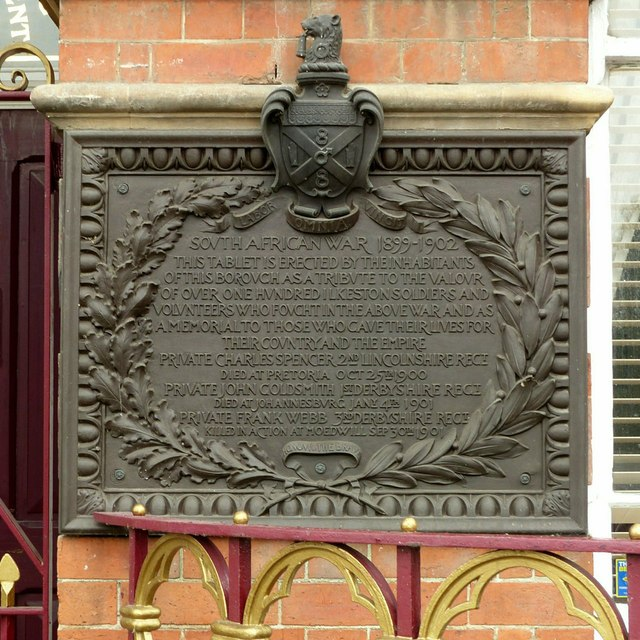 South African War memorial on the Town Hall