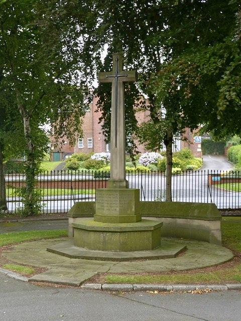 War Memorial, Park Cemetery, Ilkeston