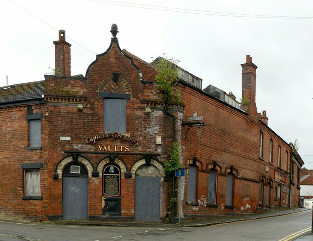 Captain Gregory's Vaults, East Street, Ilkeston