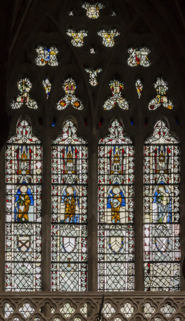 Clerestory window, Exeter Cathedral