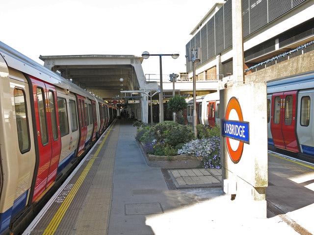 Uxbridge tube station