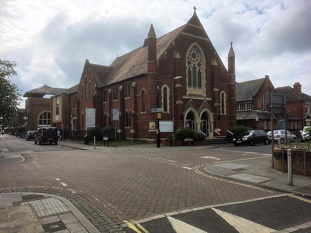 Eastleigh Baptist Church, Desborough Road