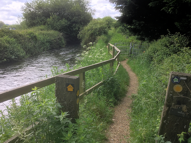 The Itchen Way, Eastleigh