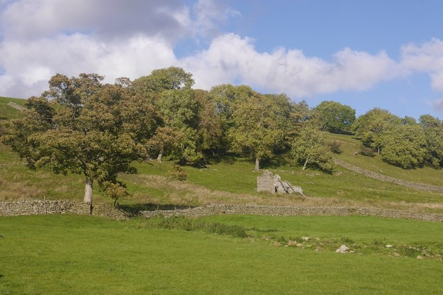 Ruined barn, Litherskew