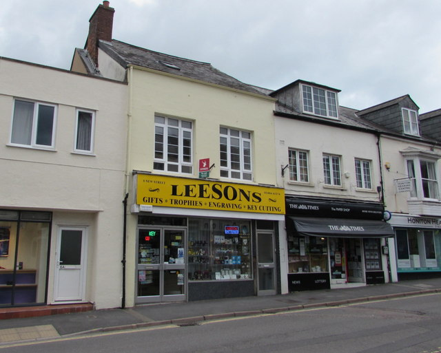 Leesons in Honiton