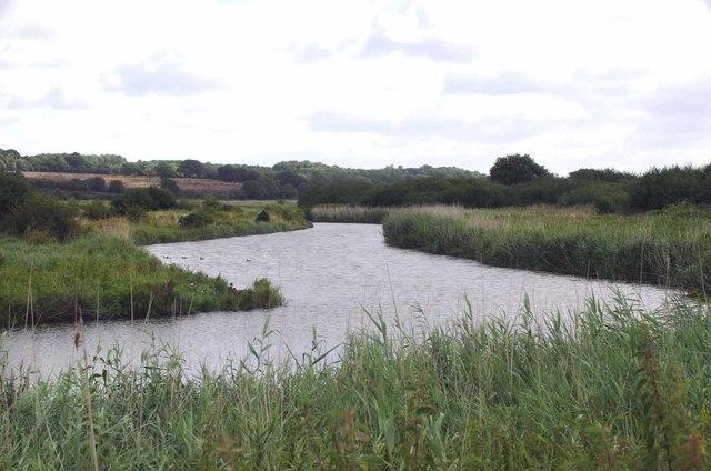 River Stour Near Judas Gap Sluice