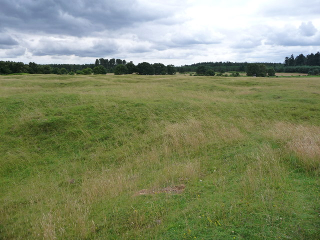 View south-west across Grime's Graves