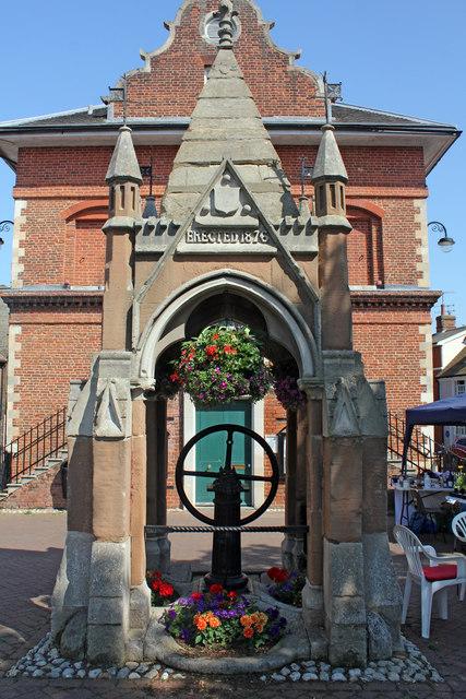 Pump, Market Hill, Woodbridge