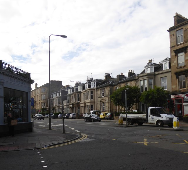 Newington Road at its junction with East Preston Street