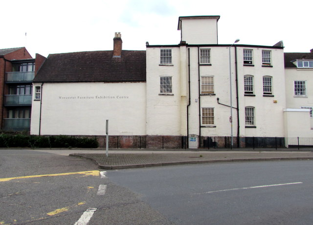 East side of Worcester Furniture Exhibition Centre, Worcester