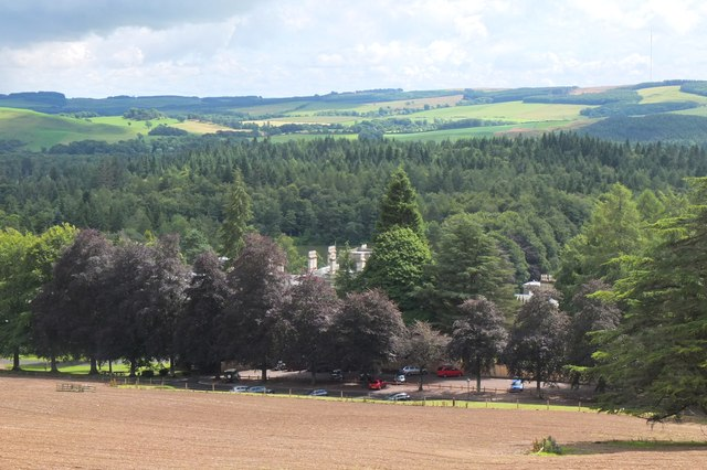 Bowhill and car park