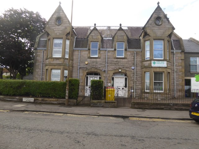 Semi-detached house and dentist in Craigmillar