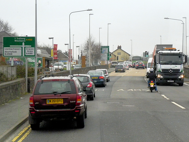 Newtown, Pool Road (A483)