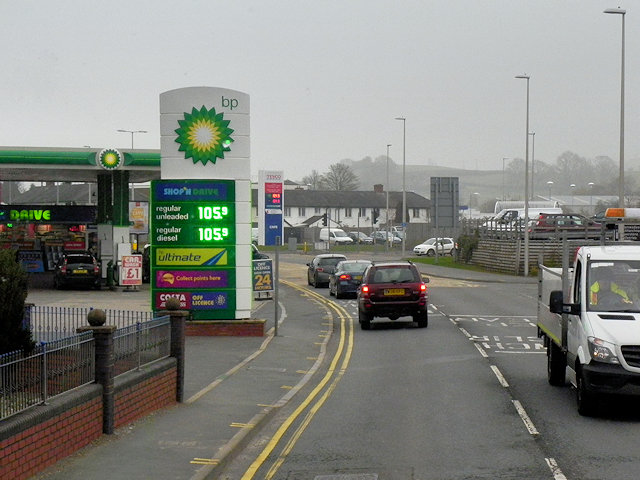 BP Garage on Pool Road