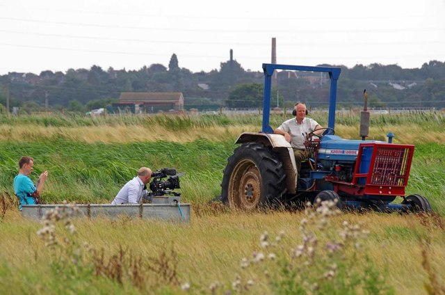 Filming on the RSPB Reserve