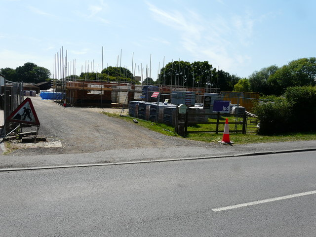 Building site, Woodchurch Road