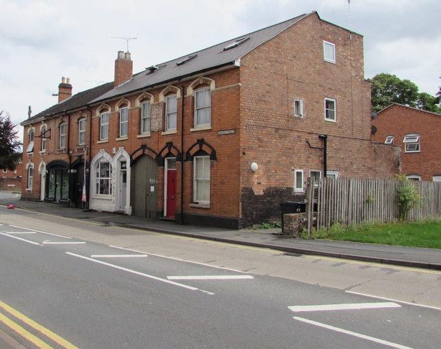 Western end of George Street, Worcester